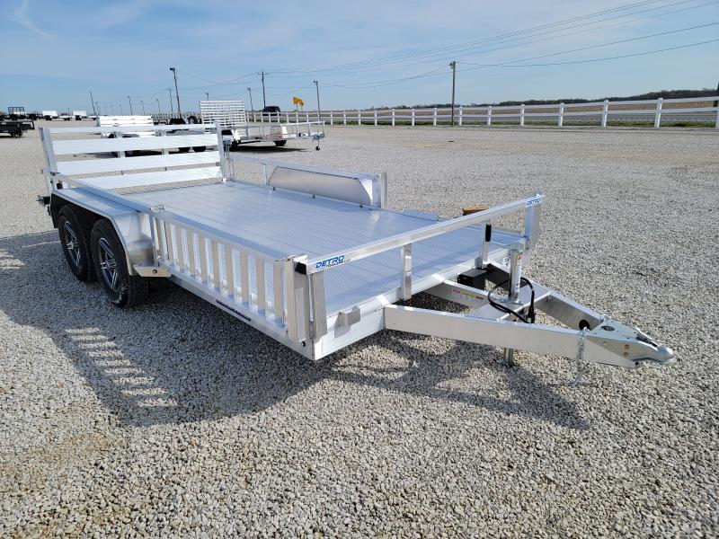 2021 Sure-Trac 7 X 14 Aluminum Tube Top ATV  7K Tandem