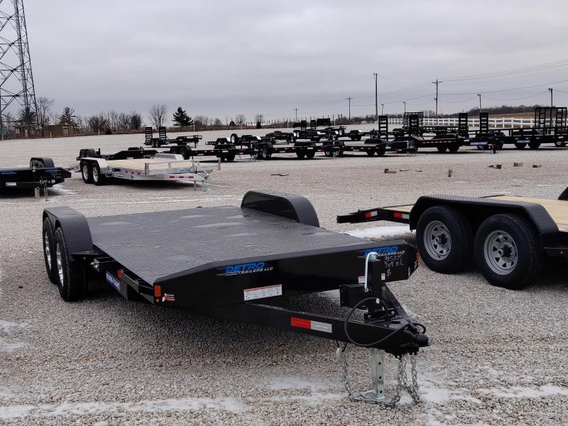 2021 Sure-Trac 7x14+4 Steel Deck 10K Car Hauler