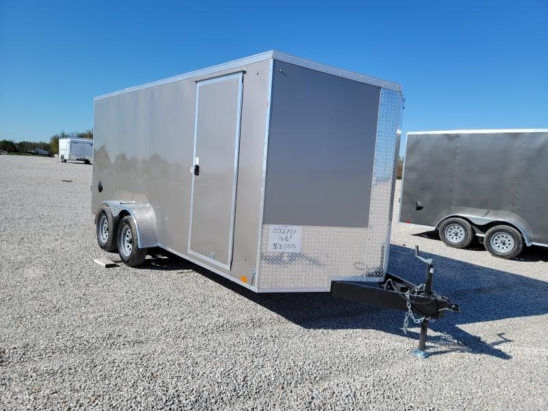 2022 Cargo Express 7x16 Rear Ramp Door 7K Enclosed Trailer