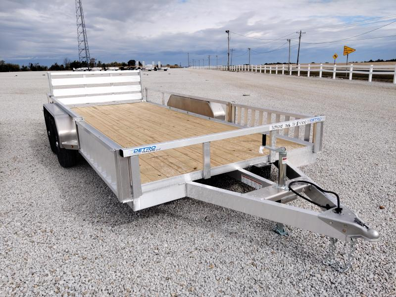 2021 Sure-Trac 7X16 Aluminum 7K ATV Trailer
