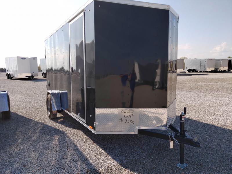 2021 Cargo Express 6X14 Enclosed Ramp Door Trailer