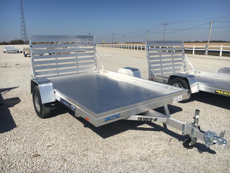 2021 Aluma 78X10 ES-A Utility Trailer