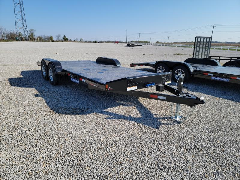 2021 Sure-Trac 7x20 (16+4) Steel Deck 10K Car Hauler