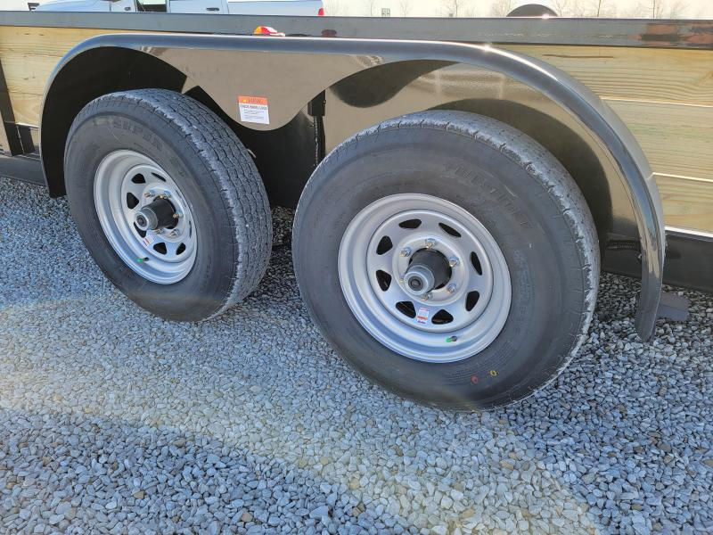 2021 Rhino Trailers 7X22 Three Board High Side Utility Trailer