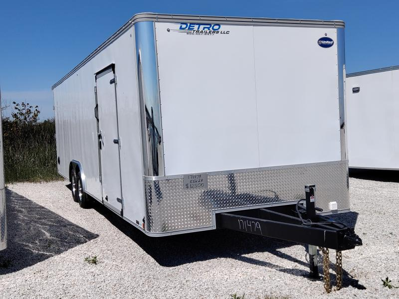 2020 United 8.5X28 10K Enclosed Car Trailer