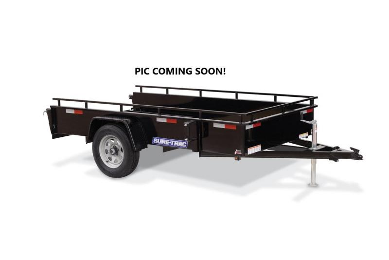 2021 Sure-Trac 5x10 Steel High Side Trailer