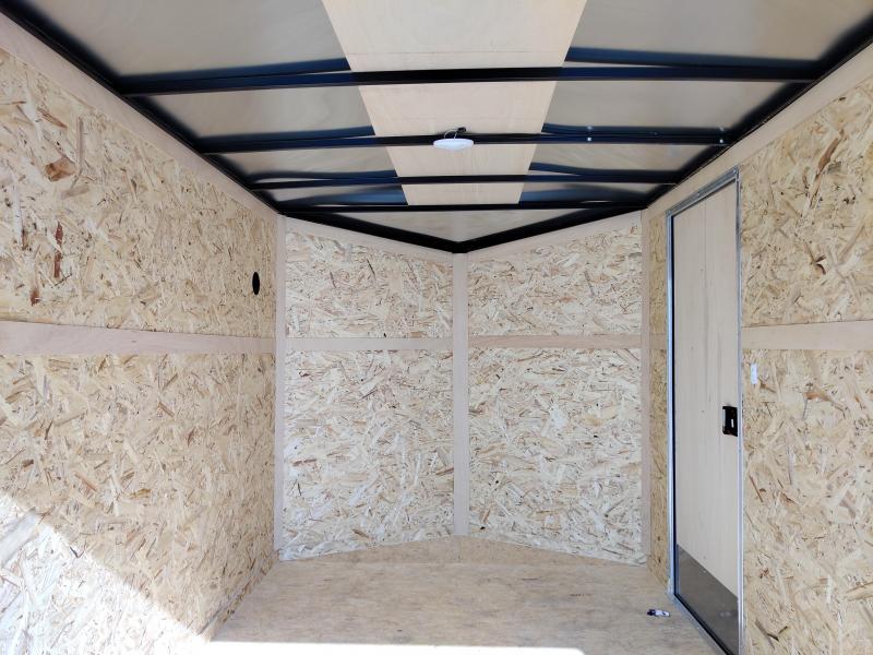 2021 Cargo Express 7x12 Enclosed Ramp Door Trailer