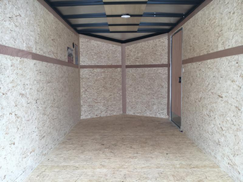 2021 Cargo Express 7x14 Enclosed Double Rear Door Trailer