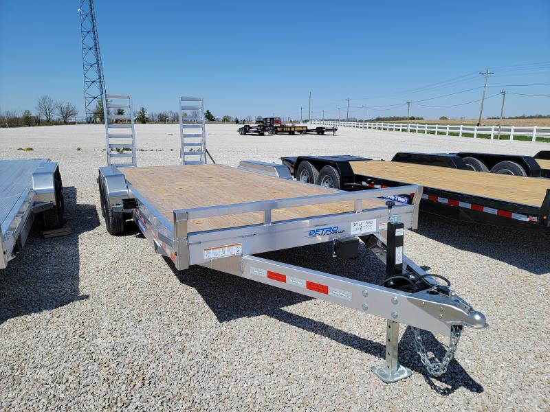 2021 Sure-Trac 7X20(18+2) Aluminum Equipment Trailer