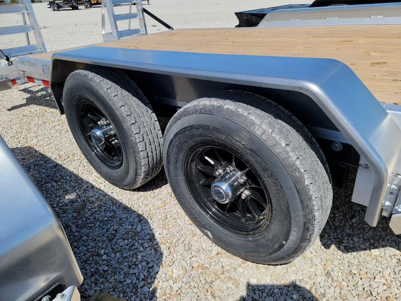 2021 Sure-Trac 7x20(18+2) Aluminum Equipment Trailer
