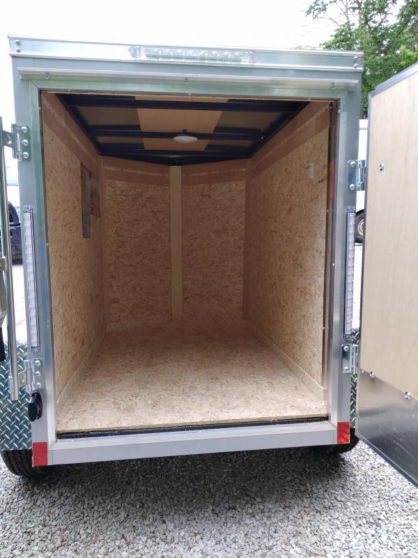 2021 Cargo Express 4X6 Enclosed Swing Door Trailer