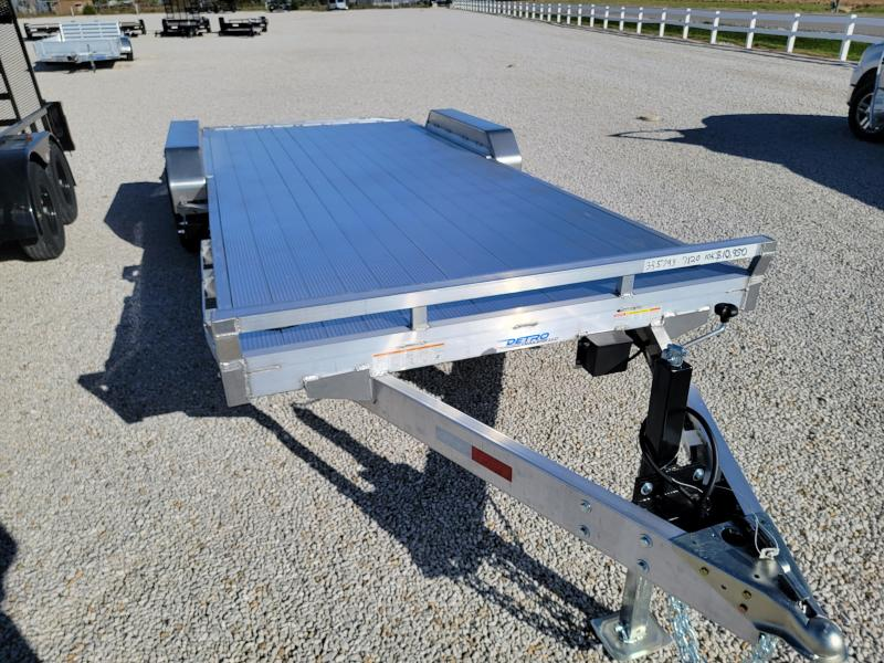 2022 Sure-Trac 7x20(16+4) Aluminum 10K Car Trailer