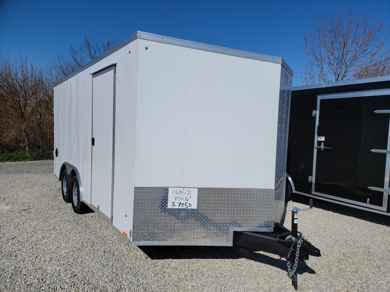 2022 Cargo Express 8.5X16 Rear Ramp Door Car / Racing Trailer