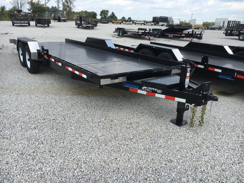 2020 Imperial 17+5 Split Deck Tilt Flatbed Trailer