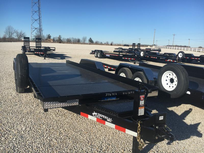 2021 Imperial Splifloor Wideboy 81x20(16+4) 14K Equipment Trailer