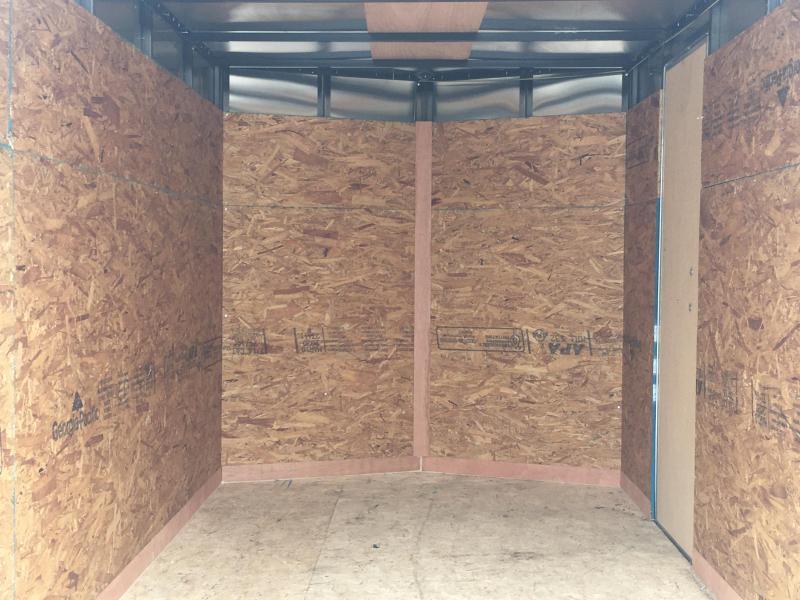 2021 Cargo Express EXE 6x10 Enclosed Ramp Door Trailer