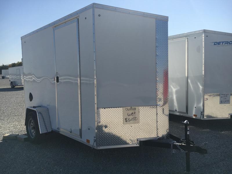 2021 Cargo Express 6x10 Enclosed Ramp Door Trailer