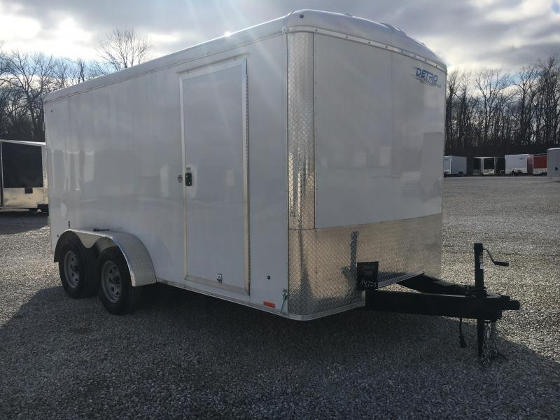 2019 Cargo Express 7x14 DRD TA Enclosed Trailer