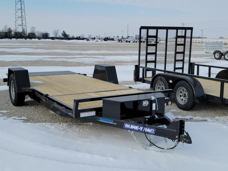 2021 Sure-Trac 78x12+4 Single Axle Tilt Bed Equipment