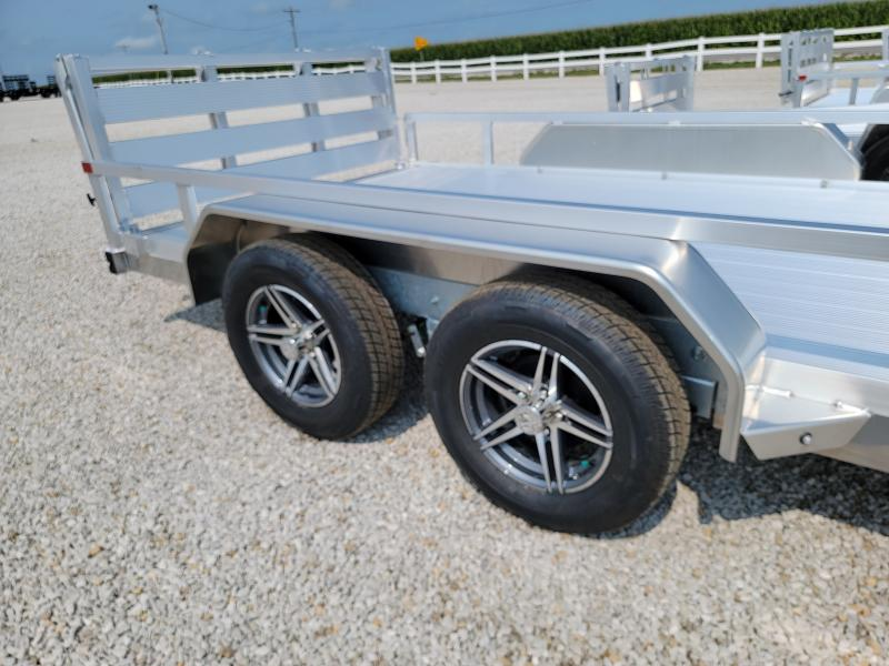 2021 Sure-Trac 7x14 Aluminum Tube Top 7K Tandem