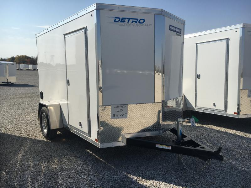 2021 Sure-Trac 6x10 Pro Series SA Ramp Door Trailer