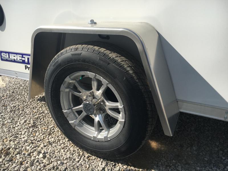 2021 Sure-Trac 6x10 Pro Series SA Ramp Door Trailer