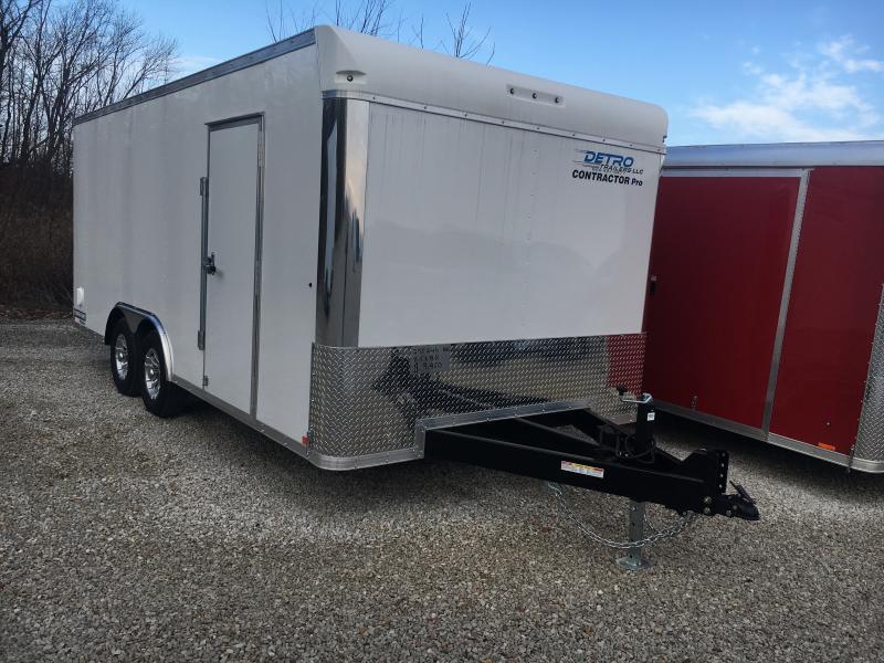 2020 Sure-Trac 8.5x18 Contractor Pro BN Enclosed TA 10K RD Trailer