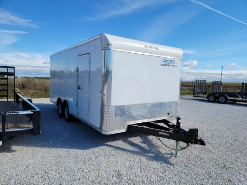 2020 Sure-Trac 8.5x18 Contractor Pro Enclosed Trailer