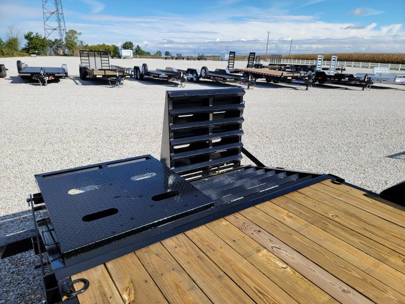 2022 Sure-Trac 7x20(17+3) 14K Universal Ramp Equipment Trailer