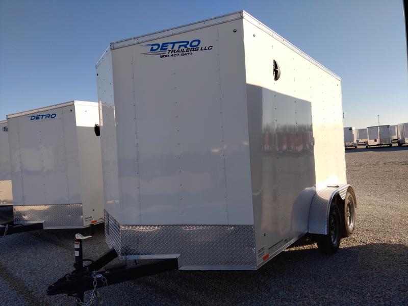 2021 Cargo Express 7x12 TA Enclosed Ramp Door Trailer