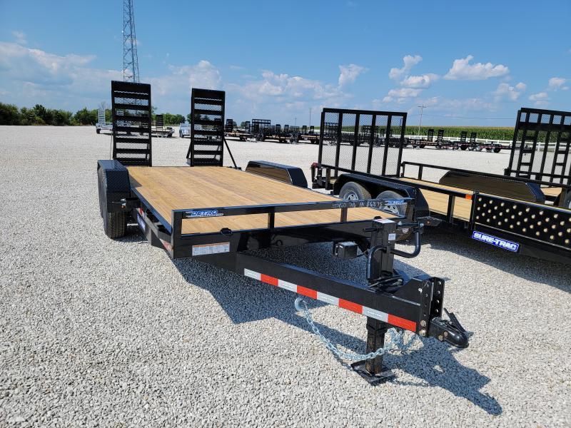 2021 Sure-Trac 7x16 Flat Deck 14K Equipment Trailer