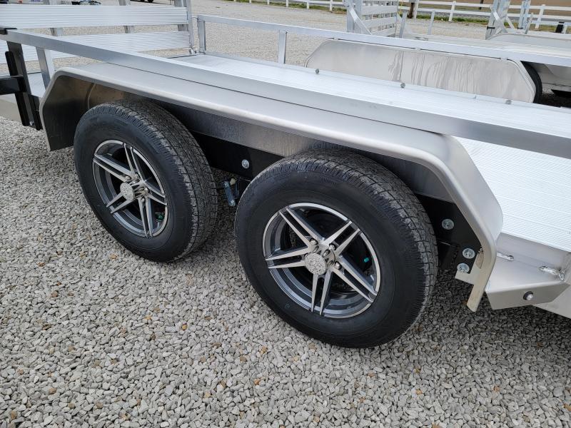 2021 Sure-Trac 7x16 Aluminum Tube Top ATV  7K Tandem