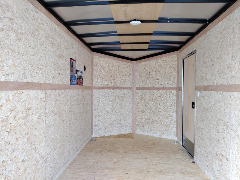 2021 Cargo Express 7X14 Enclosed Ramp Door 7K Trailer
