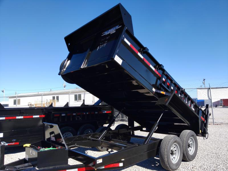 2021 82x14 Low Profile Twin Cylinder 14K Dump Trailer