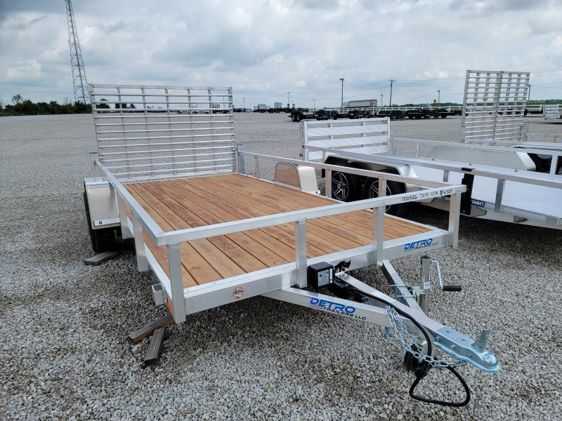 2021 Black Rhino Aluminum 7x14 Wood Deck 3.5K Utility Trailer w/ Brakes