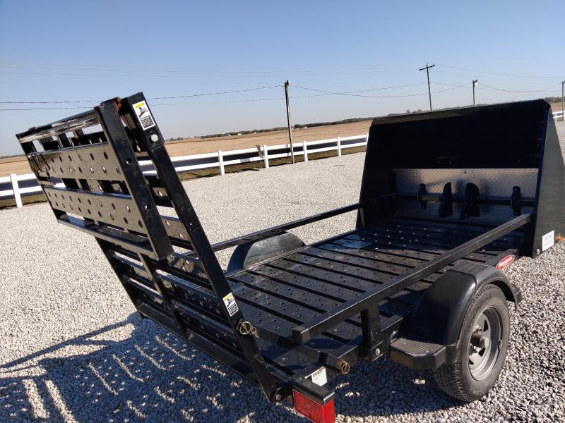 2002 Shorelandr 5x8 ATV/Golf Cart Trailer w/ Front Guard