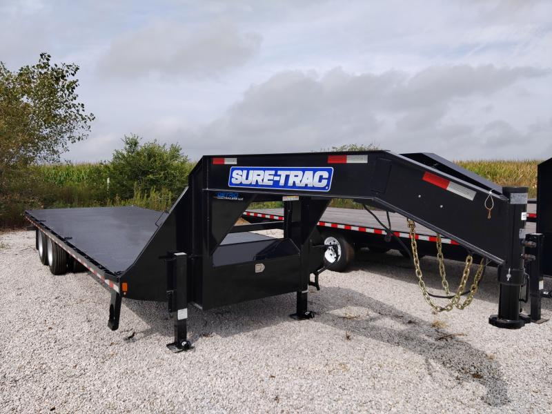SPECIAL - 2018 Sure-Trac 8.5x24 Deckover 25.9K Equipment Trailer FACTORY DEMO