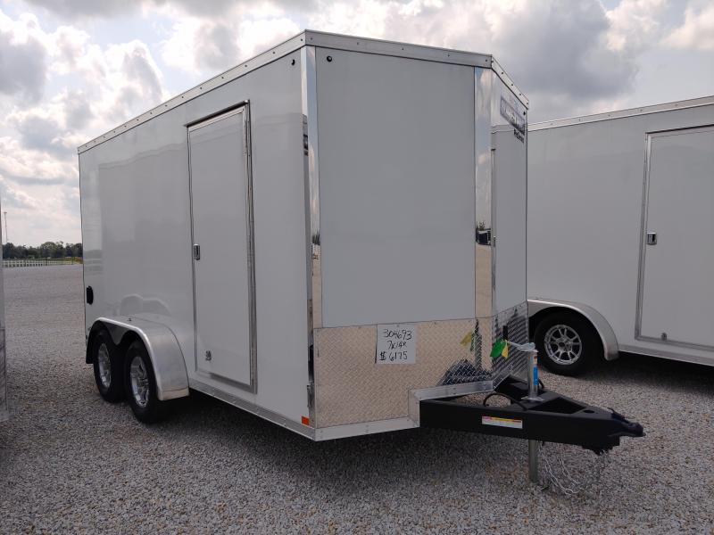 2021 Sure-Trac 7x14 Pro Series Wedge Enclosed TA 7K Ramp Door Trailer