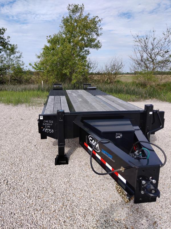 2019 Cam Superline HD 51K Equipment Trailer w/ Air Brakes