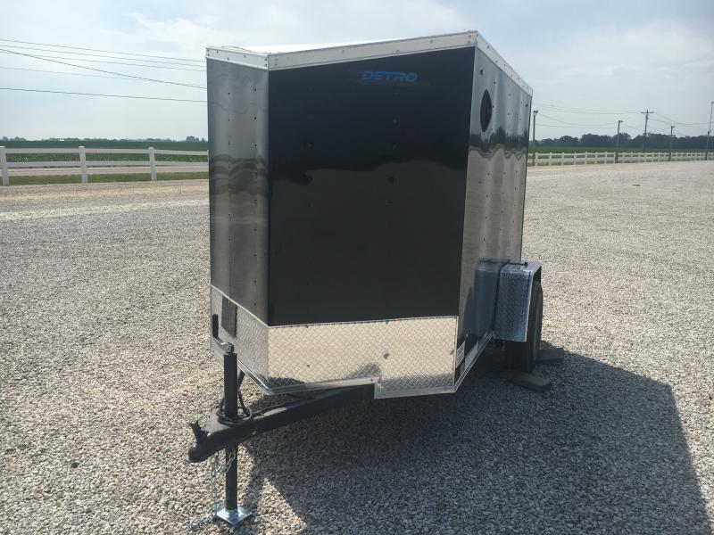2022 Cargo Express 5x8 Enclosed Ramp Door Cargo Trailer