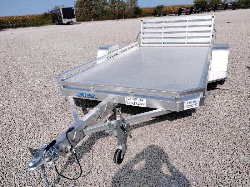 2021 Aluma 77X12 H Executive Series Utility Trailer