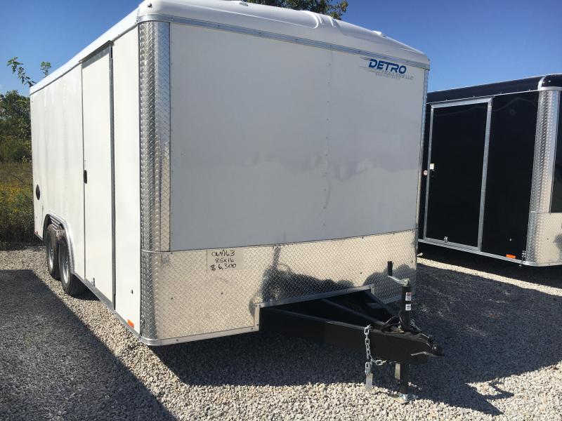 2021 Cargo Express 8.5X16 Enclosed Double Rear Door Cargo Trailer