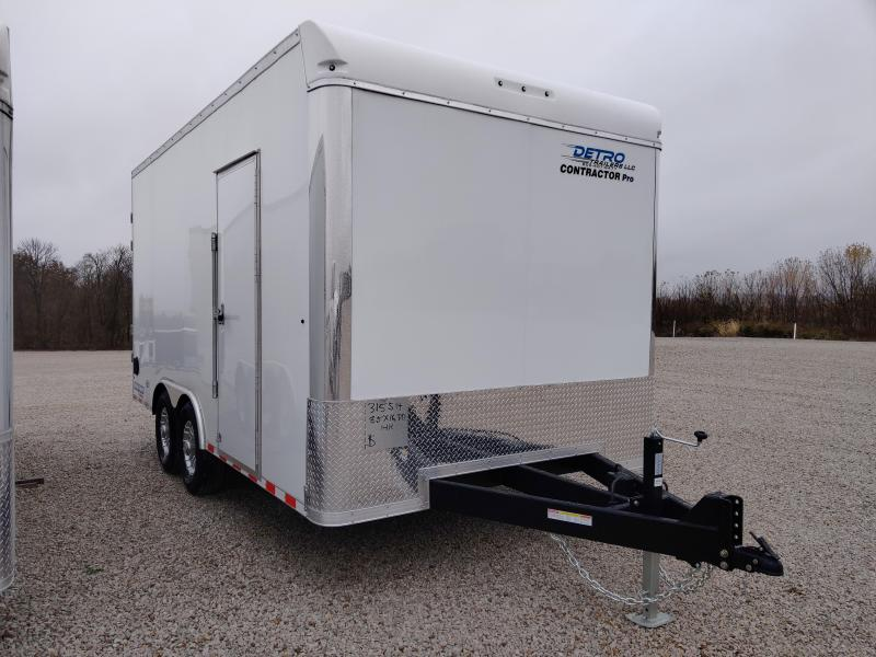 2021 Sure-Trac 8.5x16 Contractor Pro Enclosed DRD Trailer