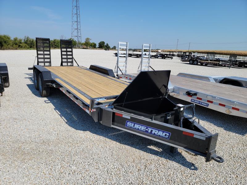 2021 Sure-Trac 7x22(19+3) 20K Equipment Trailer