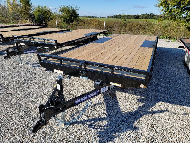 2022 Sure-Trac 8.5x20 Low Pro 10K Flat Deckover Equipment Trailer