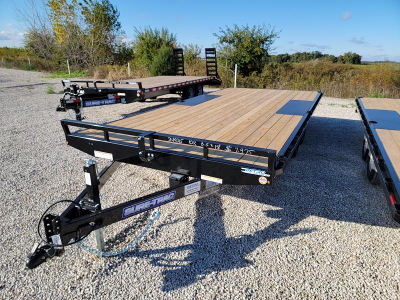 2022 Sure-Trac 8.5x18 10K Flat Deck Deckover