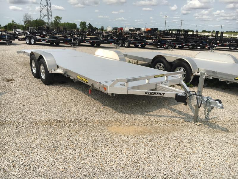2020 Aluma 82x20 10K Tilt Deck Car Trailer