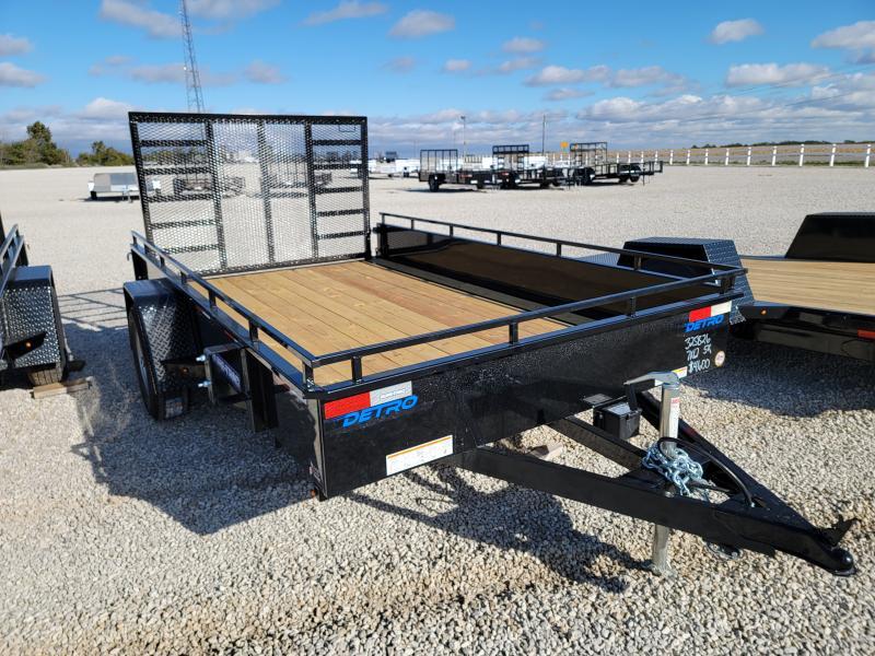 2022 Sure-Trac 7x12 Steel High Side Utility Trailer