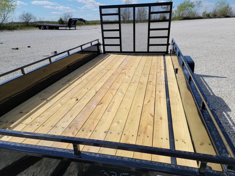 2021 Sure-Trac 7x14 Steel High Side 5K Trailer w/ Brakes