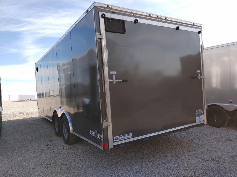2021 Rhino 8.5x20 Rear Ramp Door 10K Enclosed Trailer